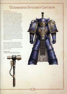 Ultramarine Invictarus Centurion