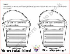 Bucket Filling Brainstorming