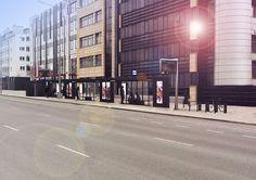 W Kielcach rozpoczyna się budowa przystanków autobusowych wg naszego projektu. Konkurs architektoniczny został rozstrzygnięty w 2013 i obejmował stworzenie modułowej koncepcji przystanków dla 80 lokalizacji. Przetarg o wartosci 12,2mln zł wygrała firma Strabag, a termin ukończenia budowy to koniec lipca 2015.