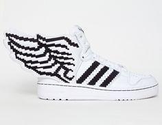 #adidas #JeremyScott #Wings 2.0 Pixel #Sneakers