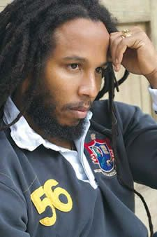 Ziggy Marley - I don't know what it is about him exactly; I just find him beautiful.