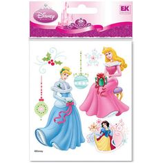 No one does stickers like Jolee's does stickers! These Disney Princess Dimensional Stickers are great for girls of all ages.