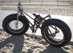 Amazing Cool Bicycles - Now this is a beach riding bike...Super Fat Tire Bike