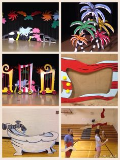 Seussical Set Pieces