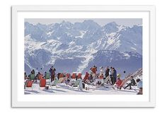 Slim Aarons, Lounging In Verbier on OneKingsLane.com