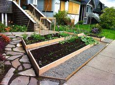 Front Yard Garden - Late April - #3 by FarmCity Food Gardens, via Flickr