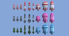 toy rocket on dresse
