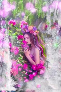 Romantic waterfall animation I made  kunst videos Romantic waterfall animation I made  Beautiful Women Videos, Beautiful Love Pictures, Beautiful Flowers Images, Love You Images, Beautiful Flowers Wallpapers, Beautiful Fantasy Art, Beautiful Gif, Beautiful Fairies, Flower Images