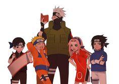 Kid Kakashi, Naruto And Sasuke Kiss, Naruto Run, Naruto Team 7, Naruto Family, Naruto Comic, Boruto, Naruko Uzumaki, Naruto Shippuden Anime