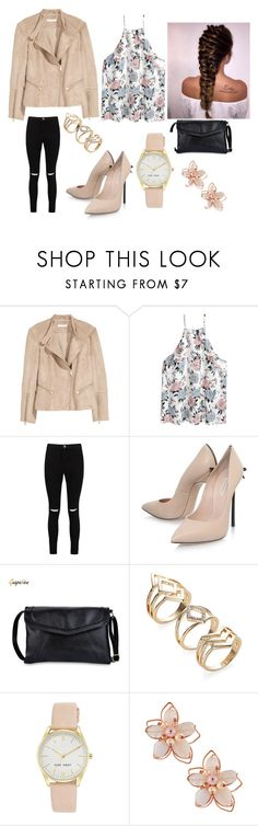 """Bez naslova #21"" by armina-244 ❤ liked on Polyvore featuring Boohoo, Casadei, Nine West and NAKAMOL"