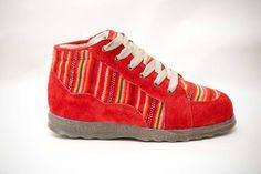 zapatillas perunas  Rojo invierno¡¡¡¡¡¡¡¡¡
