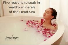 Dead Sea Salts are harvested from the Dead Sea and naturally contain the minerals our bodies need to help relieve those everyday aches and pains, improve our skin's health and maintain wellness. Here are 5 reasons you will want to give them a try! Topical Magnesium, Magnesium Spray, Healthy Skin Care, Healthy Life, Muscle Function, Dead Sea Salt, Happy Skin, Sore Muscles, Our Body