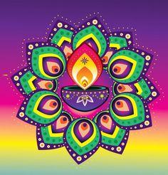 Happy Diwali 2019 - Diwali Images, Diwali Wishes, Diwali Rangoli Designs Simple Rangoli Designs Images, Small Rangoli Design, Beautiful Rangoli Designs, Kolam Designs, Happy Diwali Rangoli, Rangoli Designs Diwali, Easy Rangoli, Rangoli Ideas, Candles