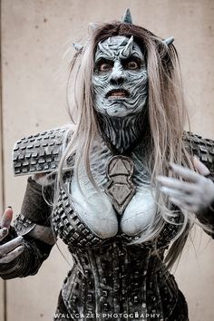 White Walker (Game of Thrones) #Cosplay | NYCC 2016 - Tom DeRosa
