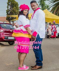 Pedi Traditional Attire, Sepedi Traditional Dresses, South African Traditional Dresses, Traditional Wedding Attire, African Wedding Attire, African Attire, African Wear, African Dress, African Clothes