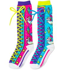 When you buy MadMia, you buy a pair of unmatched two. My socks are made with you in mind, empowering YOU to be who YOU are. They are made to be cool, comfy and fun. Crazy Socks, My Socks, Unicorn Print, Leotards, Girl Outfits, Anna, Comfy, Pairs, Yellow