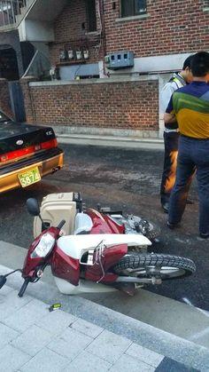 Raoul Teacher's English Empire: 오토바이 사고 ( 1 ) A Motorbike Accident