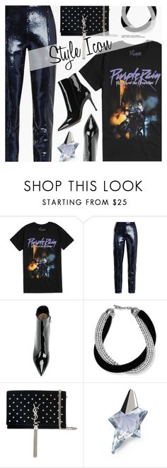 """""""Dress Up a T-Shirt"""" by pokadoll ❤ liked on Polyvore featuring Diane Von Furstenberg, Yves Saint Laurent, Thierry Mugler, Gianvito Rossi, polyvoreeditorial and polyvoreset"""