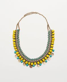Threaded Charm Necklace  {Noonday Collection Spring/Summer 2014}