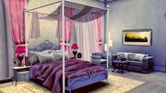 Catchy Sweet Bedroom at Sanjana sims via Sims 4 Updates