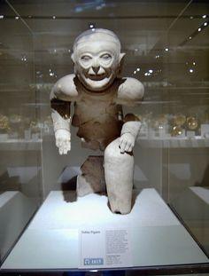 Seated Figure Colombia Ecuador Tolita-Tucaco culture 1st BCE-1st CE #art #sculpture
