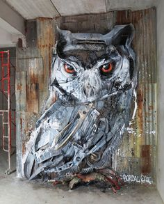 In the hands of a talented, committed and determined man, street art can be a formidable weapon. To convince you, see for example the work of Bordalo II. For years, this Portuguese street artist ha…