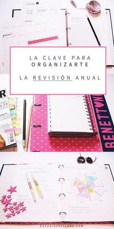 Cómo organizar tu agenda. Productividad.