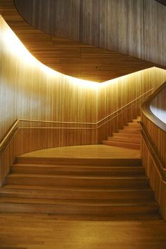 Wooden Architecture, Amazing Architecture, Architecture Details, Interior Architecture, Scandinavian Architecture, Interior Stairs, Interior Exterior, Oslo Opera House, Home Modern