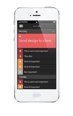 Qarma - To-do app on App Design Served