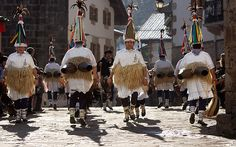 Carnavales en Ituren. Mañana lunes 28 de Enero comienzan los carnavales en Ituren y Zubieta (Navarra)....Fotos: Inaki Caperochipi