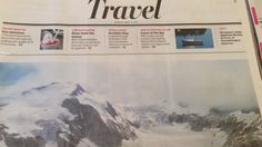 Newspaper video title