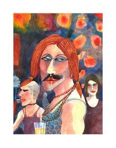 Marcus Goldson Mona Lisa, Fine Art Prints, Princess Zelda, Gallery, Funny, Artwork, Painting, Fictional Characters, Work Of Art