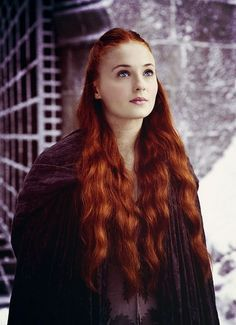 So beautiful, I do think something will happen between her and petyr baelish though World Of Warcraft, Petyr Baelish, Fandom Games, Sansa Stark, Red Hair, Character Inspiration, Jon Snow, Fur Coat, Game Of Thrones Characters