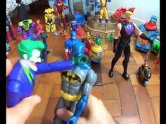 Coringa Joker X Batman brinquedo com Venom Charada Homem Aranha Spiderma...