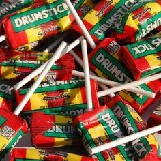 Drumstick Lollies..