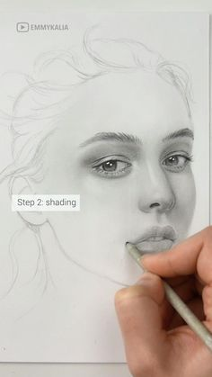 Art Drawings Beautiful, Art Drawings Sketches Simple, Realistic Drawings, How To Draw Realistic, Pencil Portrait Drawing, Pencil Art Drawings, Pencil Sketches Of Faces, Drawing With Pencil, Zipper Drawing