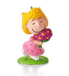 """Sally's Spring Bouquet,"" #10 in the Happiness is Peanuts Every Month of the Year Series Hallmark Ornament, 2014"