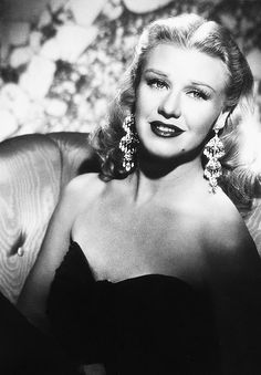 Ginger Rogers - though well known for her movies with Fred Astire.  She was a great actress in her own right.  Classy lady!