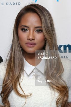 Emmalyn Estrada with the perfect ash brown & blonde hair … - Modern Blonde Asian Hair, Brown Blonde Hair, Asians With Blonde Hair, Light Brown Ombre Hair, Light Hair, Emmalyn Estrada, Brassy Hair, Blonde Color, Summer Hairstyles