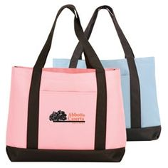 Promotional Geophysicist Polyester Color Boat Tote Bag with Black Trim #totes #advertising #promoproducts #branding | Promotional Tote Bags | Customized Geophysicist Polyester Color Boat Tote Bag with Black Trim
