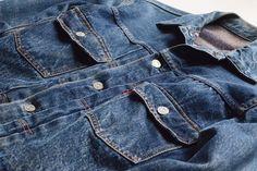 For Sale: Vintage Levi's, Worn Only a Couple of Times, Bought in 1893 Vintage Levis Denim Jacket, Levi Denim Jacket, Denim Jackets, Jean Jackets, Date Outfit Casual, Date Outfits, Casual Outfits, Holey Jeans, Denim Dye