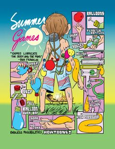 Summer just got a little cooler: DIY Super Water Balloon instructions by Howtoons.