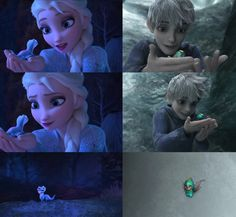Elsa and Jack Frost - Jelsa Frozen 2 on We Heart It Jack Frost Und Elsa, Jake Frost, Jack And Elsa, Disney Princess Facts, Sailor Princess, Princess Celestia, Space Princess, Princess Luna, Princess Bubblegum
