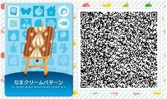 Les qr codes bonbons & fun : - Animal Crossing New Leaf