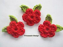 Miniblumen mit Miniblättern