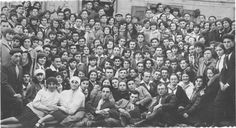 Mlawa, Poland, A conference during the Sukkot festival, 03/10/1928.