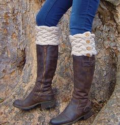 Knitting PATTERN Bootcuffs Boot Tops with by Richmondhillknits, $5.00