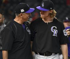 bbb42a192 Rockies' promising starting rotation has chance to become best in team  history Rockies Baseball,