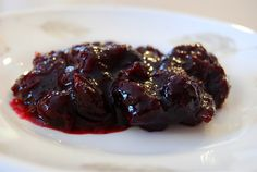 Citrus Cranberry Blueberry Sauce