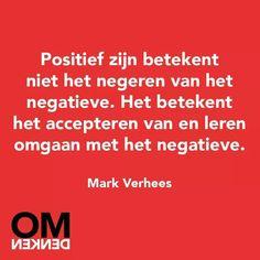 Positief versus negatief
